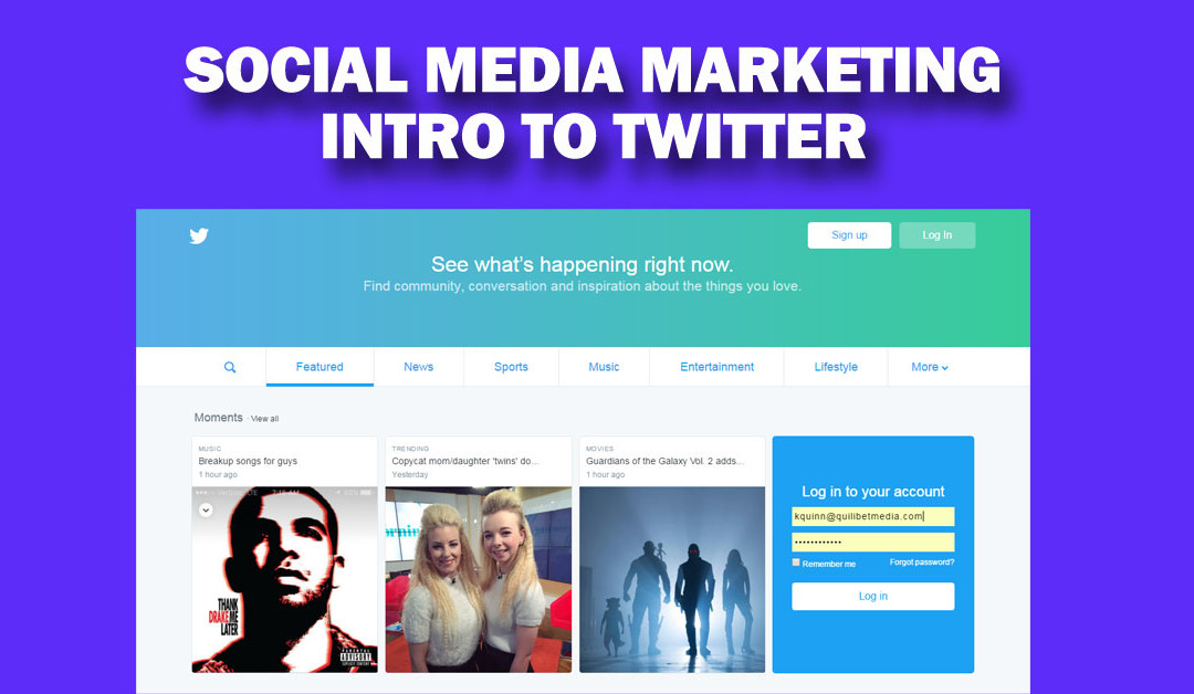 How to Setup a Twitter Page for Your Business